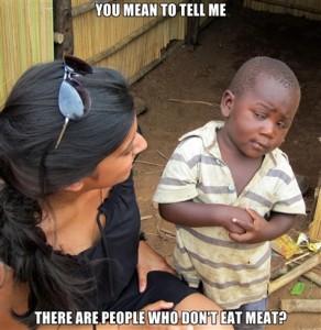 Skeptical kid