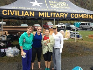 Team Strong Figure! Dixie, Reagan, Me, my beer, and Terri. What an amazing group of women I have as my friends!