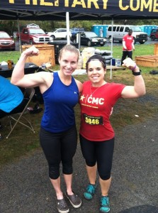 Training partners--2nd and 3rd place in the CMC PIT! Heck yeah!