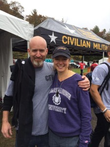 Jill and Chad--two CFH members who both placed 2nd in the CMC master's division!