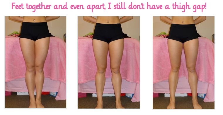 Do squats give you a thigh gap