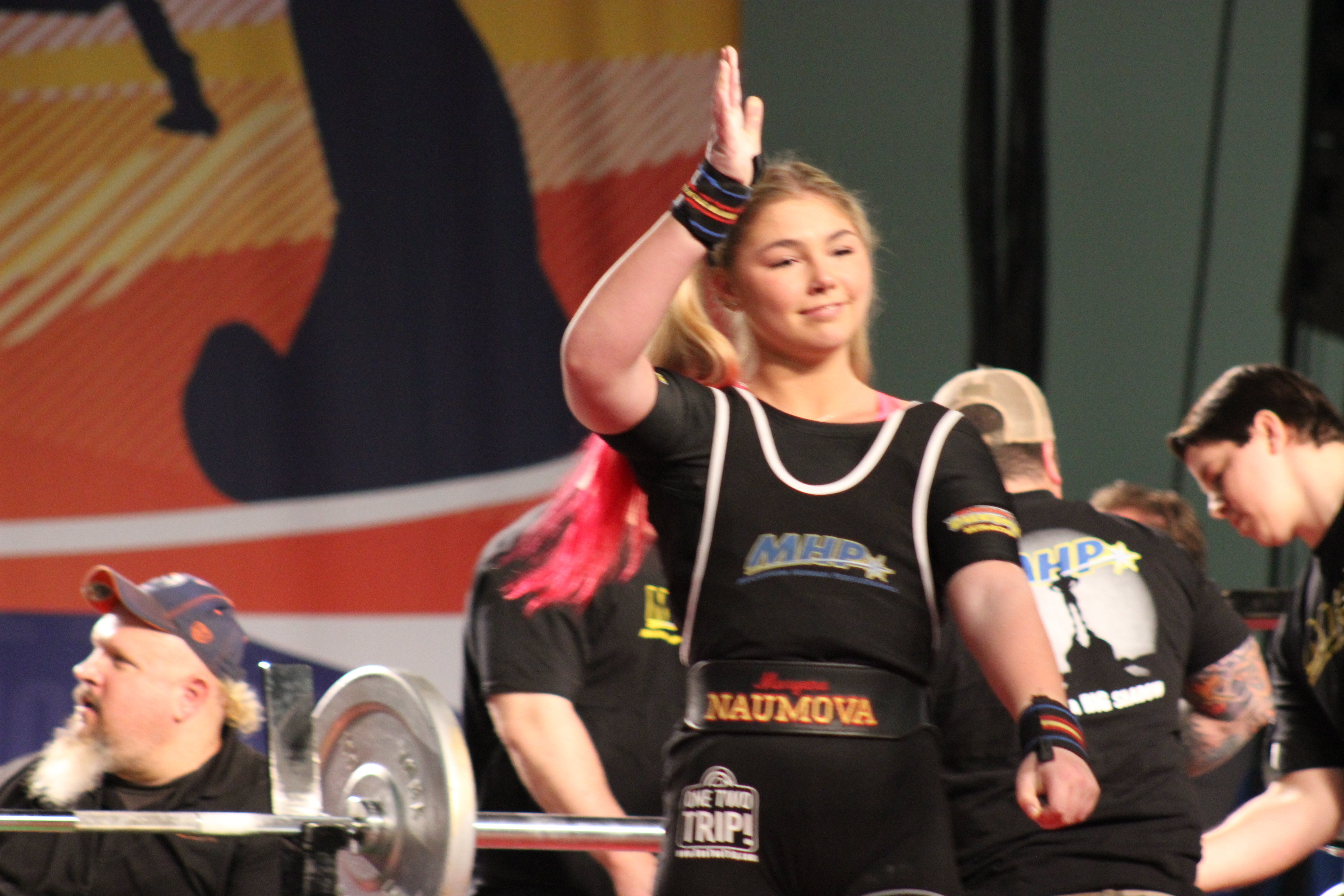 Wo womens bench press records by weight class - At 14 Years Old She Is 5 7 And Weighs 136lbs