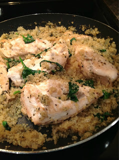 chicken spinach quinoa