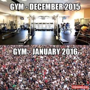 gym december
