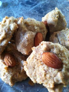 Almond-Pumpkin 1-Carb Cookies