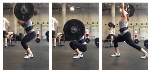 Ellie clean and jerk