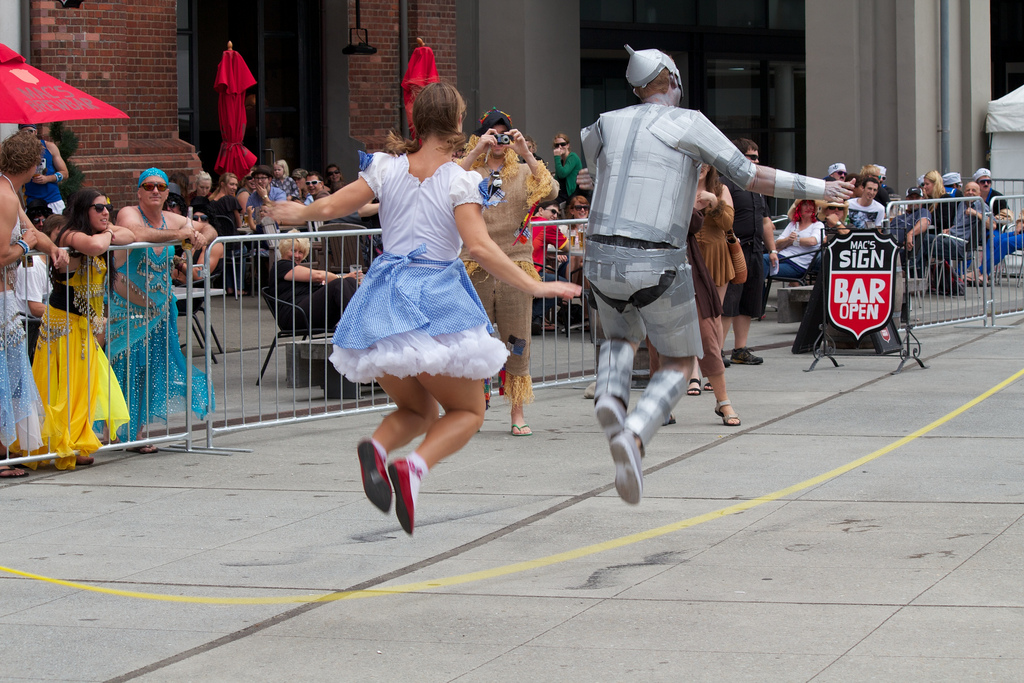 No excuses! If Dorothy and the Tin Man can do it, so can YOU!