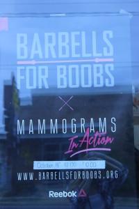 Mammograms in action....make it happen!