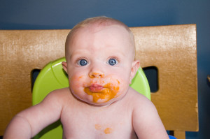 sweet potato baby food by abardwell