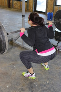 I love squatting. Finally--being short pays off!