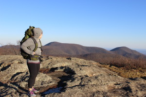 After climbing Spy Rock in Nelson County, VA a couple weekends ago.