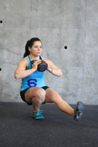 Weighted pistol squat