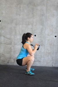 squat side