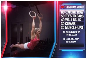 Who is the girl featuring all of these workouts in 2014 and why isn't she competing?