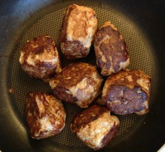 Four Ingredient Meatballs