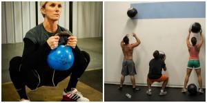 Goblet Squat vs Wall Balls