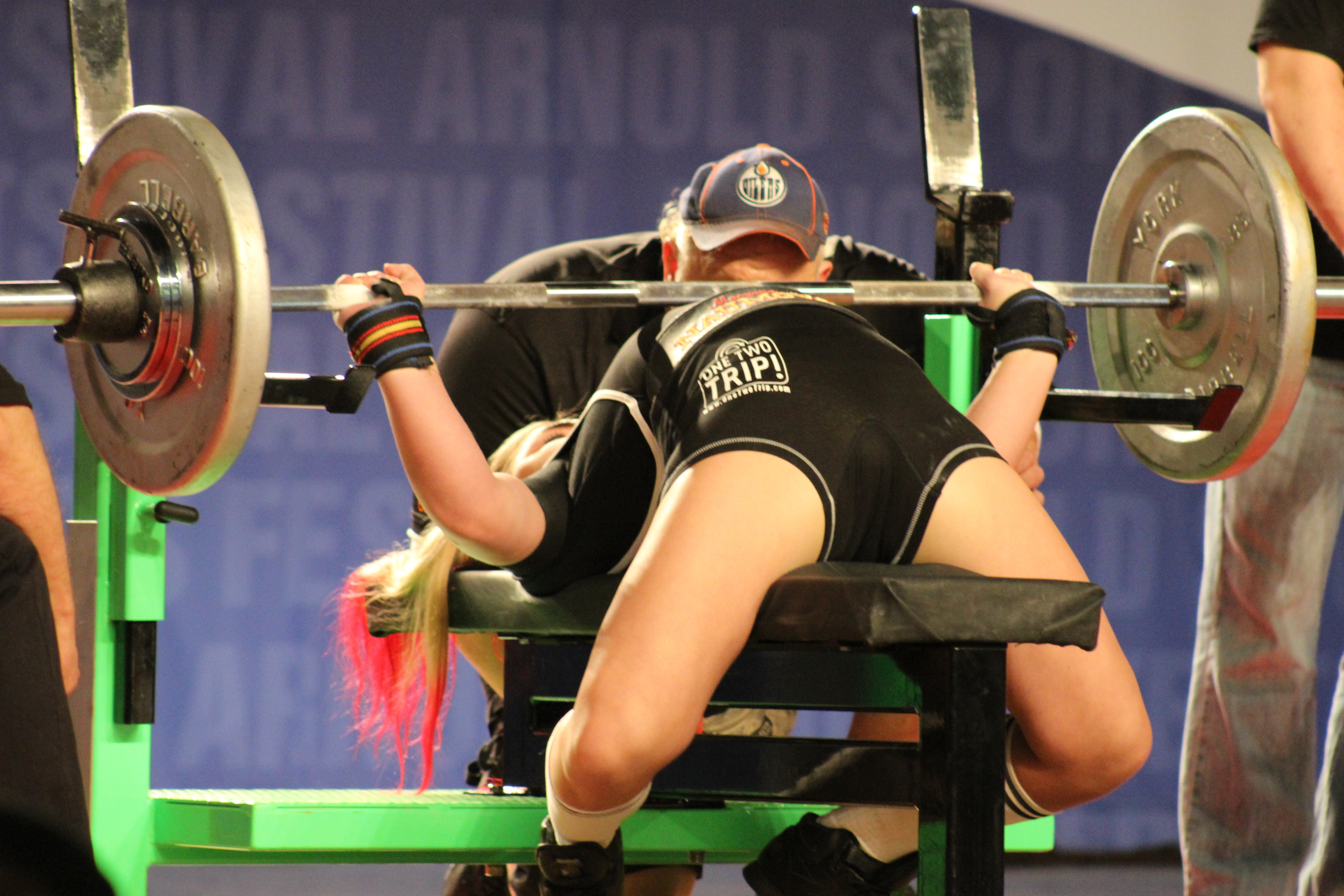 14 Year Old Girl Bench Presses 290lbs