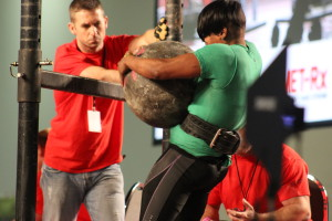 Atlas Stone Strongwoman Finals, Arnold 2014.