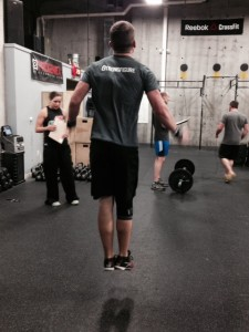 Strong Figure Athlete Ambassador, Trevor, rockin' the double unders.
