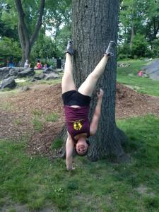 Central Park Handstand!