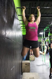 "I did 100 pull-ups in this workout...along with 42 thrusters and a mile run. Under 27 minutes. Do you think for a second I would have done that well or that many pullups on my freakin' own?! You might be thinking ""was it smart to even attempt so much so quickly?"" Maybe not. But I loved the feeling of accomplishment. I might have been sore for a couple days but it was a good sore--nothing bad!"