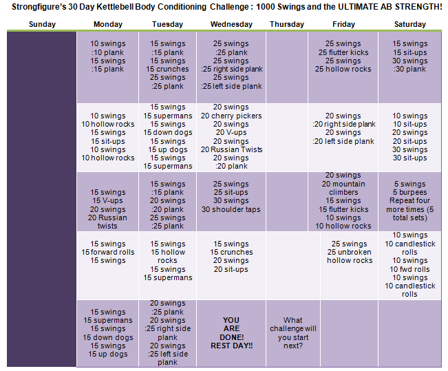 30-Day-StrongFigure-KB-Core-Challenge