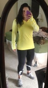 I felt leaner Tuesday! :D