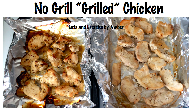 "No Grill ""Grilled"" Chicken"
