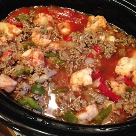 Stuffed Pepper Crockpot Stew & Tuesday's Workout
