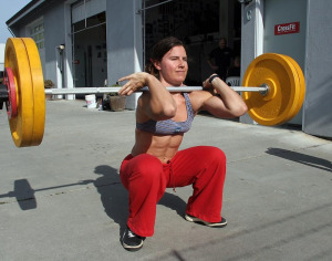 Female-Front-Squat