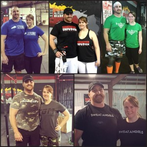 Tasha and Jeremy completed all 5 2015 CrossFIt Open workouts together! How did you celebrate the end of the Open?