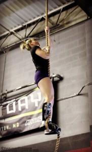 Tori rope climb