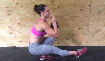 4 Steps to Master the Weighted Pistol Squat