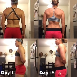 14 days in, counting macros and working with online coaches.